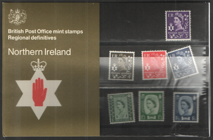 1970 Northern Ireland Definitive Royal Mail Presentation Pack 25